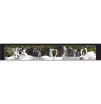 35X210 cm Kuğu Baskılı Kamyon Paçalığı