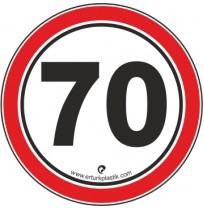 Uyarı İşaretleri ( Hız Sınırı 70 )